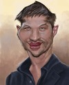 Cartoon: Tom Hardy (small) by jonesmac2006 tagged tom,hardy,caricature
