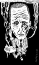 Cartoon: Bogey (small) by csamcram tagged bogey,humphrey,bogart,casablanca,csam,cram