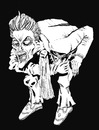 Cartoon: Joker 3 (small) by csamcram tagged joker batman villain