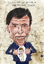 Cartoon: San Remo 2011 (small) by csamcram tagged csam,cram,gianni,morandi