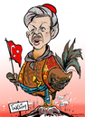 Cartoon: Der osmanische Gockel (small) by pianoman68 tagged erdogan,türkei,demonstranten,despot,antidemokratisch