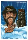 Cartoon: Lemmy Kilmister (small) by Paddy tagged lemmy,kilmister,motorhead,karikatur,acryl