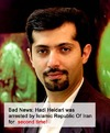 Cartoon: Hadi Heidari was arrested (small) by iranian cartoonist tagged hadi heidari was arrested by islamic republic