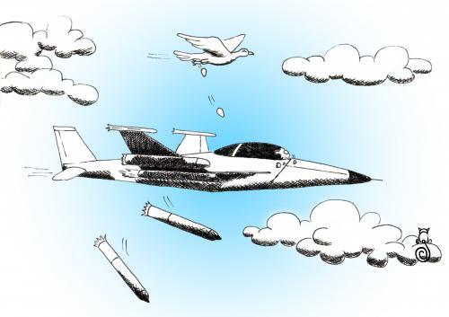 war By MelgiN | Philosophy Cartoon | TOONPOOL