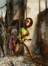 Cartoon: thief (small) by nootoon tagged thief,nootoon,illustration,digital,book,germany