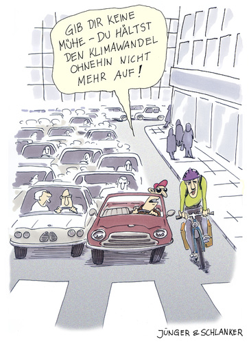 Cartoon: Klimawandel (medium) by Jünger  Schlanker tagged klimawandel