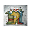 Cartoon: Farbenfroh (small) by ninaboosart tagged konfetti,karneval,bunt,feiern,party,narren