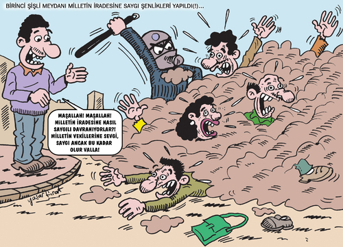 Cartoon: güncel (medium) by komikadam tagged güncel