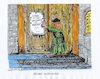 Cartoon: Neuer Anschlag (small) by mandzel tagged luther,reformation,thesenanschlag,halloween