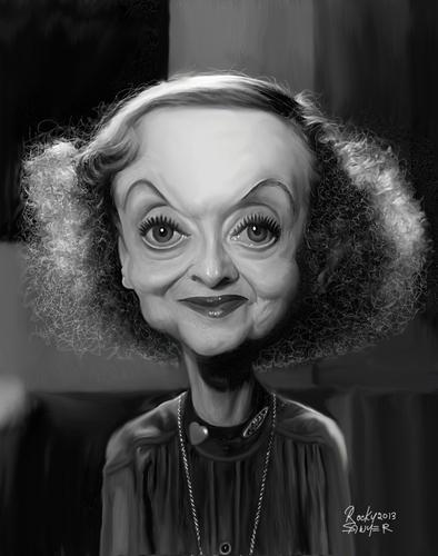O olhar fatal de Bette Davis