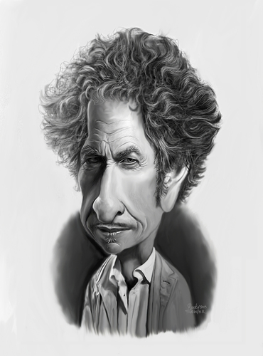 Bob Dylan Robert Allen Zimmerman By Rocksaw Famous People
