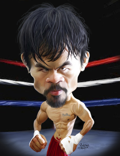 Cartoon: Manny Pacquiao (medium) by rocksaw tagged manny,pacquiao