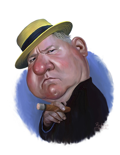 w c fields by rocksaw famous people cartoon toonpool. Black Bedroom Furniture Sets. Home Design Ideas