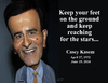 Cartoon: Casey Kasem (small) by rocksaw tagged caricature,casey,kasem