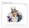 Cartoon: covid uncle sam (small) by rocksaw tagged covid,uncle,sam