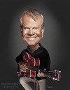 Cartoon: Glen Campbell (small) by rocksaw tagged caricature,glen,campbell