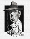 Cartoon: Humphrey Bogart (small) by rocksaw tagged humphrey,bogart