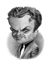 Cartoon: James Cagney (small) by rocksaw tagged caricature,james,cagney