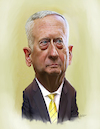 Cartoon: James Mattis (small) by rocksaw tagged caricature,james,mattis