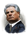 Cartoon: John Gotti caricature study (small) by rocksaw tagged john,gotti,caricature,study