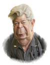 Cartoon: Richard Harrison Pawn star (small) by rocksaw tagged richard,harrison,pawn,star