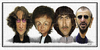 Cartoon: The Beatles (small) by rocksaw tagged the,beatles