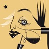 Cartoon: Madonna (small) by Michele Rocchetti tagged madonna,pop,music,disco,vector,caricature