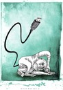 Cartoon: evolution (small) by allan mcdonald tagged humanidad