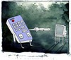 Cartoon: tv (small) by allan mcdonald tagged television