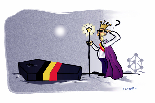 Cartoon: BELGIUM !... (medium) by ismail dogan tagged belgium
