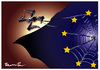 Cartoon: FASCISME IN EUROPE (small) by ismail dogan tagged fascisme,in,europe