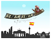 Cartoon: Juan Carlos (small) by ismail dogan tagged juan,carlos