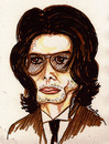 Cartoon: MICHAEL JACKSON !.. (small) by ismail dogan tagged michael,jackson