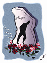 Cartoon: NAZIM HIKMET 108 YEARS !.. (small) by ismail dogan tagged poete nazim hikmet 108 ans