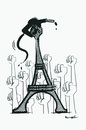 Cartoon: BOYCOTT !.. (small) by ismail dogan tagged france