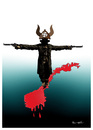 Cartoon: SCARECROW !.. (small) by ismail dogan tagged norway