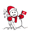 Cartoon: SNOW MAN! (small) by ismail dogan tagged snow,man