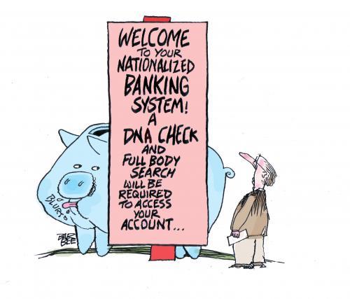 Banking By Barbeefish Business Cartoon Toonpool