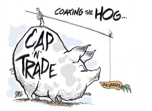 cap and trade cartoon