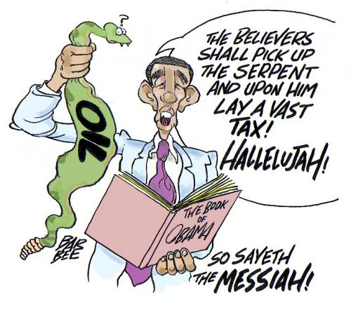 Cartoon: make em PAY (medium) by barbeefish tagged obama