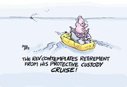 Cartoon: the rev retires (medium) by barbeefish tagged wright,
