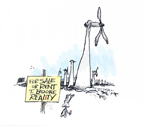 Cartoon: WIND POWER (medium) by barbeefish tagged bomb