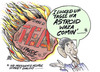 Cartoon: asteroid (small) by barbeefish tagged obama