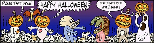 Cartoon: PARTYTIME (medium) by zguk tagged halloween