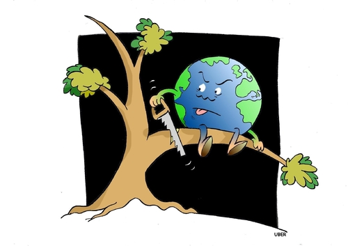 funny earth day cartoons. earth day cartoon images.