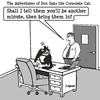 Cartoon: Don Gato 6 (small) by cartoonsbyspud tagged cartoon,spud,hr,recruitment,office,life,outsourced,marketing,it,finance,business,paul,taylor