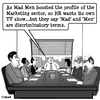 Cartoon: Mad Men (small) by cartoonsbyspud tagged cartoon,spud,hr,recruitment,office,life,outsourced,marketing,it,finance,business,paul,taylor