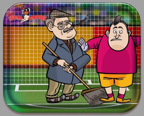 lustige Sport-Sketche