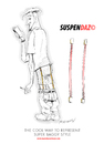 Cartoon: Suspendaz The Hottest New Trend (small) by ian david marsden tagged baggy,pants,hip,hop,suspenders,trend,fashion,look,hot,cool,hipster,haute,couture,marsden