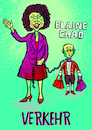 Cartoon: Elaine Chao Verkehrsministerium (small) by habild tagged transportation,kabinett,trump,ministerin